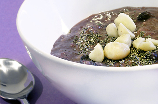 Purpleberry Breakfast Oats