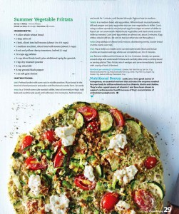 Page from Clean Eating - July 2011
