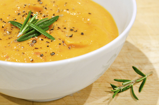 Gingered Butternut Pumpkin Soup