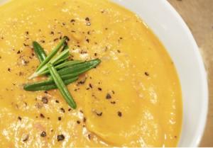 Gingered Butternut Pumpkin Soup