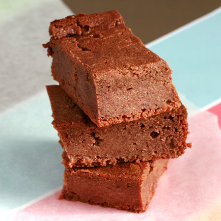 Chocolate Ricotta Protein Brownie