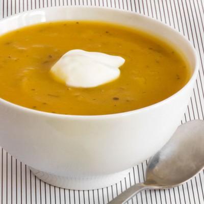 5 Ingredient Tuscan Pumpkin Soup