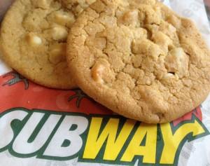 Subway Macadamia Cookies