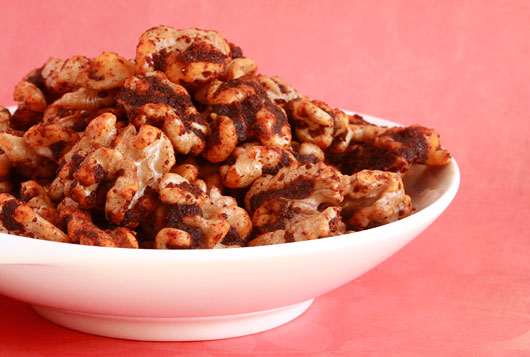 Hot Knives Spring Blaze Spiced Walnuts