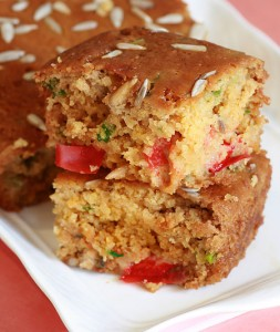 Vegan Sunflower Cornbread