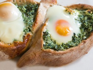 Spinach & Egg Pide