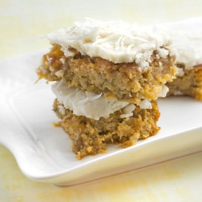 Grain Free Hummingbird Slice  + 5 Coconut Flour Baking Tips