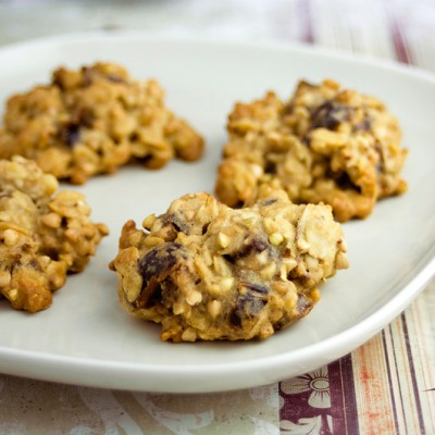 Oat & Date Protein Cookies