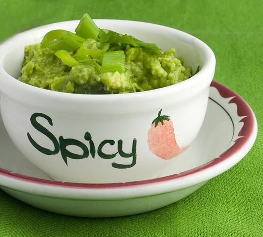 Spicy Green Jalepeno Guacamole