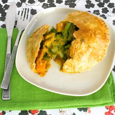 Individual Chicken Tikka Masala Pies