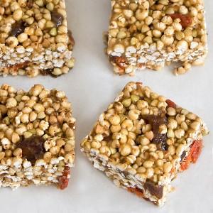 Apricot & Goji Rice Crispy Treats