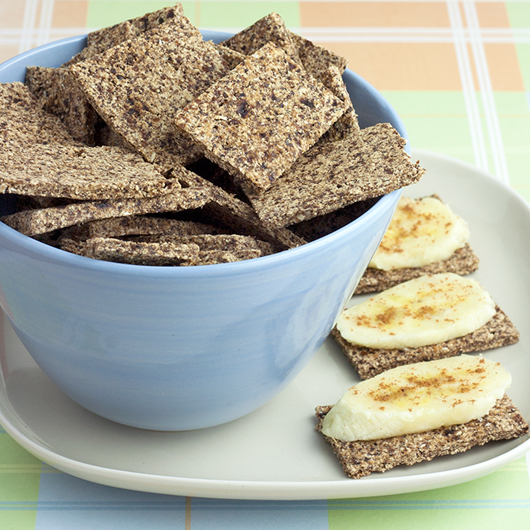 Banana Hemp Crackers