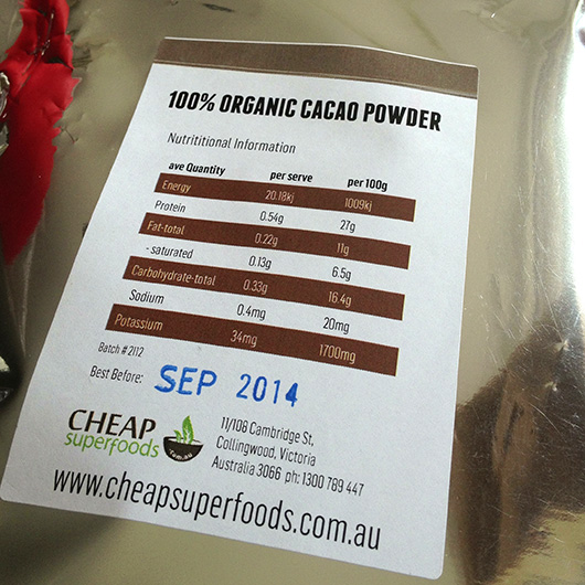 Cheap Superfoods Cacao