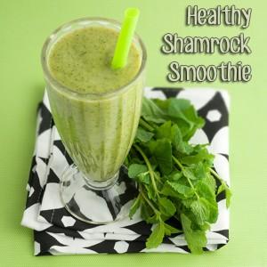 Om Nom Ally - Healthy Shamrock Smoothie