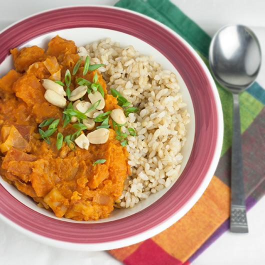 African Sweet Potato & Peanut Stew + 6 Health Benefits of Sweet Potatoes