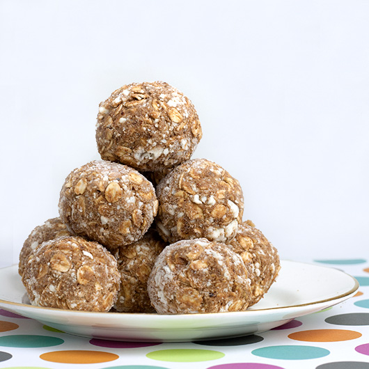Almond & Quark Freezer Protein Balls