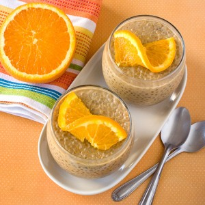 Om Nom Ally - Orange & Clove Tapioca Pudding