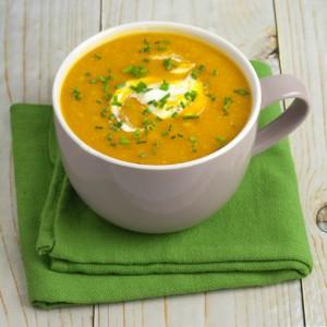 Om Nom Ally - Pumpkin & Corn Soup