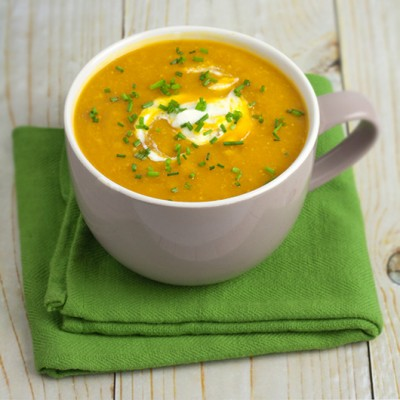 Pumpkin & Corn Soup