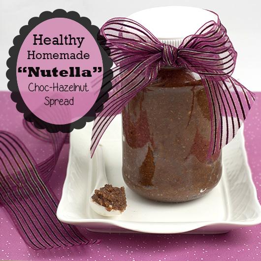 Om Nom Ally -Healthy Homemade Nutella