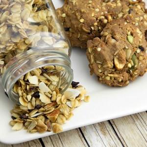 Om Nom Ally - Toasted Muesli Protein Cookies