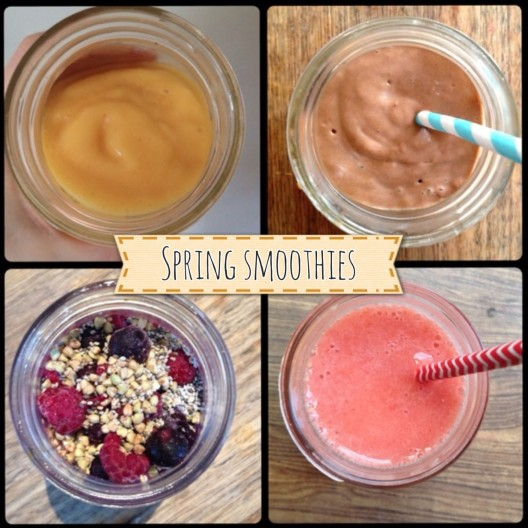I Spy Plum Pie Spring Smoothies