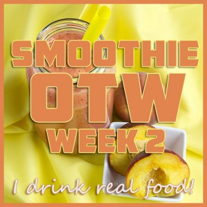 Smoothie OTW Link-Up (2) + Raspberry & Peach Refresher