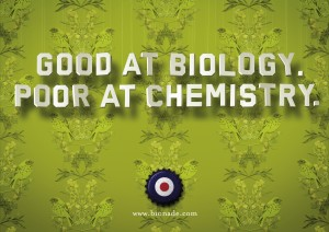 BIONADE - Good at Biology. Poor at Chemistry