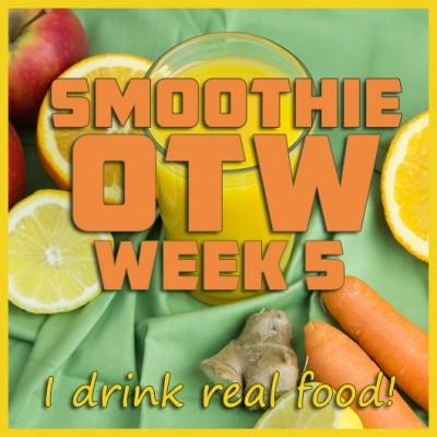 Smoothie OTW Link-Up (Week 5), December 8th, 2013 + Citrus, Apple & Ginger Immunity Juice