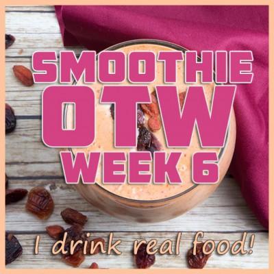 Smoothie OTW Link-Up (Week 6) + Cranberry Kefir Smoothie