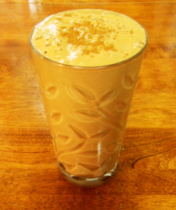 Spiced Holiday Smoothie