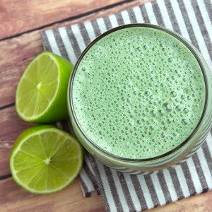 Lime and Date Protein Smoothie | Om Nom Ally