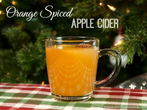 Orange Spiced Hot Apple Cider