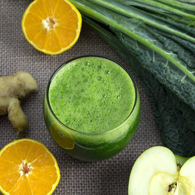 Green Adrenal Tonic Smoothie | Om Nom Ally