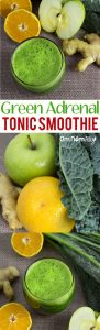 Green Adrenal Tonic Smoothie (Eating For Hormonal Health) @OmNomAlly