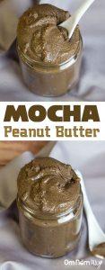 Mocha Peanut Butter @OmNomAlly