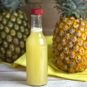 Homemade Pineapple Vinegar | Om Nom Ally