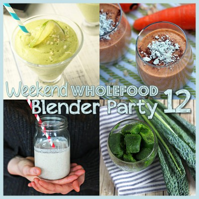 Weekend Wholefood Blender Party (12) + Make Your Own Green Smoothie Cubes