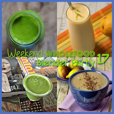 Weekend Wholefood Blender Party (17) + Figgy Raw Hot Chocolate Smoothie (in the Blender)