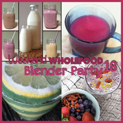 Weekend Wholefood Blender Party (18) + Super Berry Protein Shake