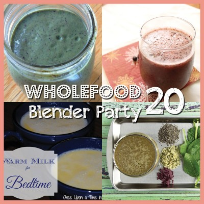 Wholefood Blender Party (20) – July 2014 + Green EFA Cacao Bomb