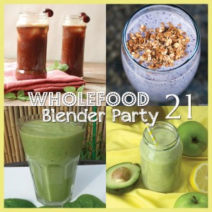 Weekend Wholefood Blender Party | A blog link-up that celebrates drink recipes made from real food ingredients. Find smoothies, juices, fermented beverages and herbal teas from your favourite bloggers here ;) #WholefoodBlenderParty #wwp