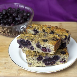 Banana & Blueberry Oatmeal Protein Bars @OmNomAlly - Save your money and eat these protein-rich, nutrient-dense protein bars to fuel you up after a workout or tide you over during the mid-morning/afternoon energy slumps.
