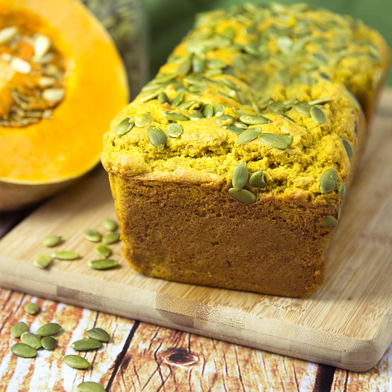 Spicy Roasted Pumpkin Bread   Om Nom Ally