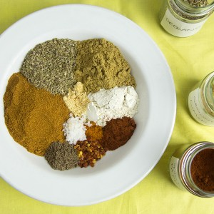 Homemade Taco Seasoning @OmNomAlly | Who needs store-bought taco seasoning when you can DIY from spices you already own? No additives, no fillers, no CRAP.