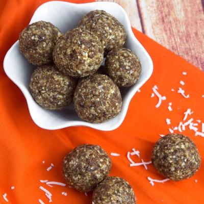 Turkish Apricot & Coconut Energy Balls