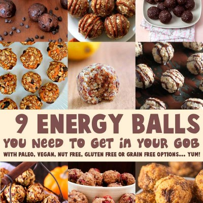 9 Energy Balls You Need To Get In Your Gob