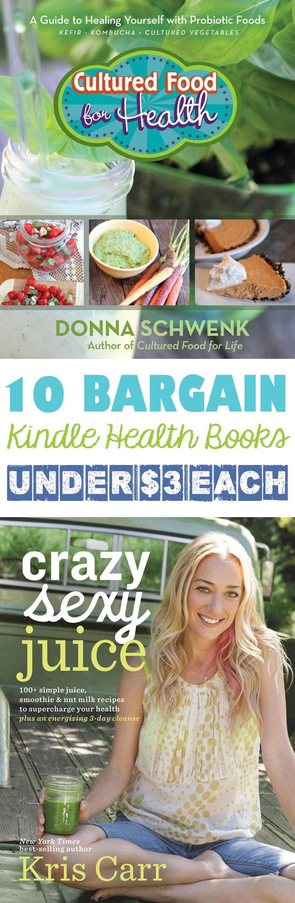 10 Kindle Health Books Under 3 Dollars Each