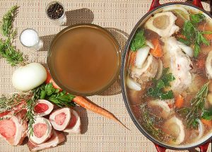 How To Make Gut Health Boosting Beef Bone Broth @OmNomAlly - Paleo & Gluten Free with Slow Cooker Option - VIDEO RECIPE