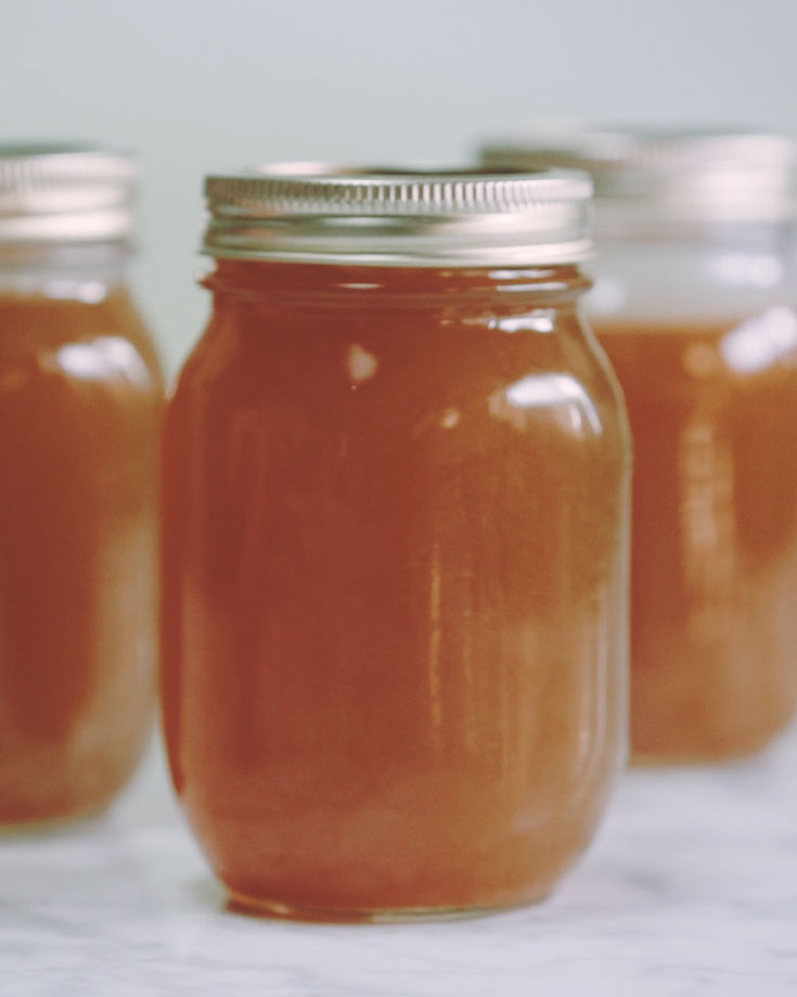 Gut Health Boosting Beef Bone Broth @OmNomAlly VIDEO RECIPE
